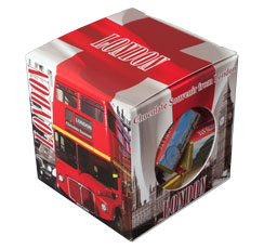"L30, Chocolate Souvenir ""London Red Bus"""