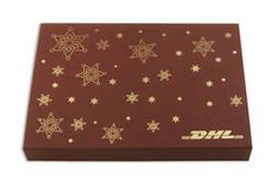 DHL Luxury 40x5g Personalised chocolate gift